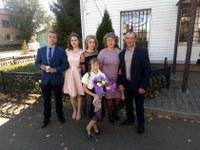 семья Соколовых с. Степнинское