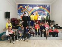 """4 июня в ДШИ прошло традиционное мероприятие """"День защиты детей"""" для детей с ОВЗ, в рамках программы """"Добрые дела"""""""