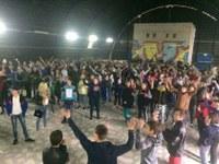 Проведение танцевального конкурса Стартинейджер  в лагере Лесная сказка.