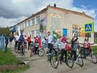Велопробег, посвященный Дню России.