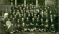Группа служащих французской компании «Анонимное Общество Кочкарских приисков»