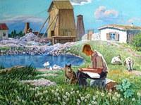 Картина «Наше детство», автор А.Н. Тумбасов
